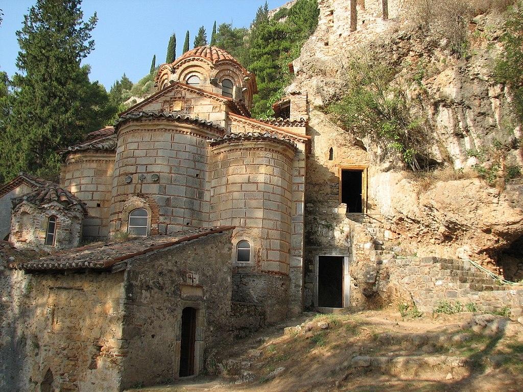 monastère de Peribleptos Mystra Mistra