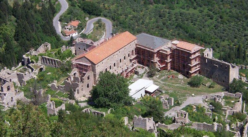 palais du deposte à Mystra Mistra