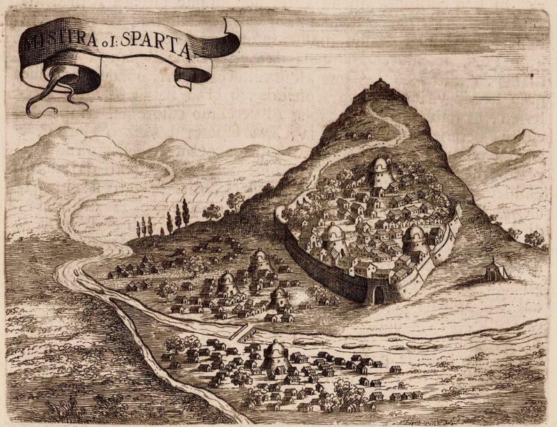Mystra en 1686