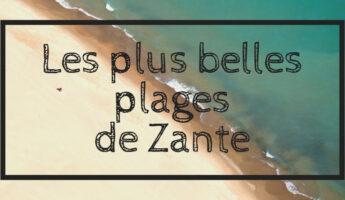 Les plages de zante zakynthos