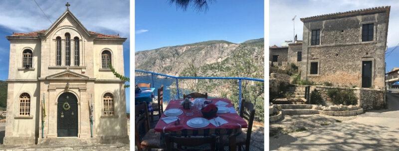 Les villages de Zante Zakynthos
