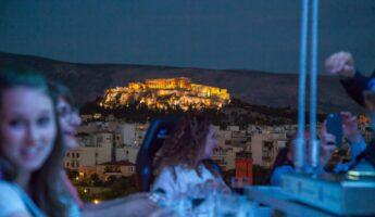 Expérience insolite à Athènes : Dinner in the Sky