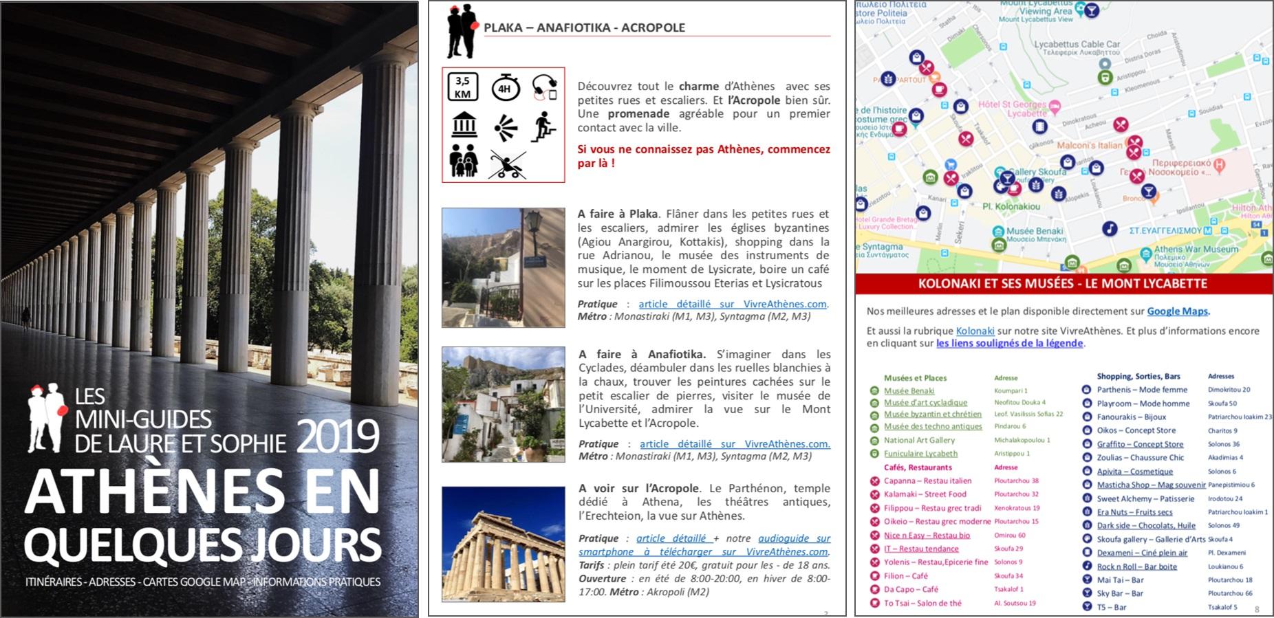 visiter athènes en quelques jours itinéraires adresses quartiers monuments