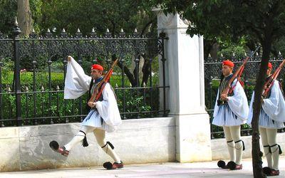 relève de la garde visiter les incontournables d' Athènes en un jour avec un chauffeur privé à Athènes