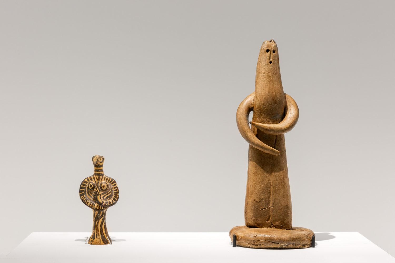 Picasso et l'antiquité exposition musée d'art cycladique à Athènes