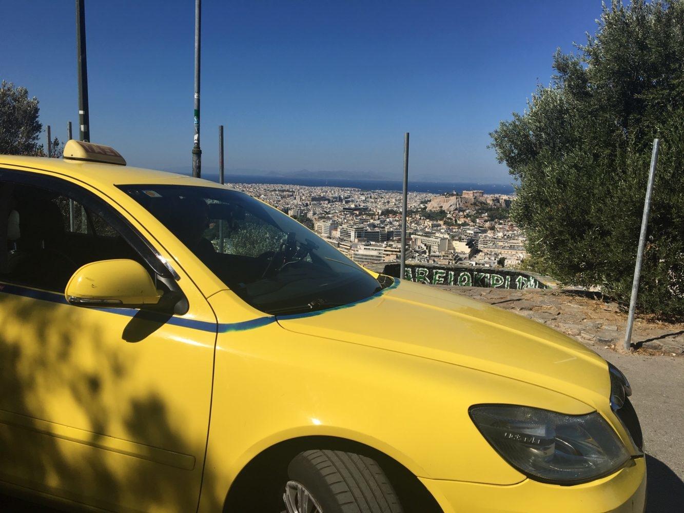 chauffeur privé à Athènes