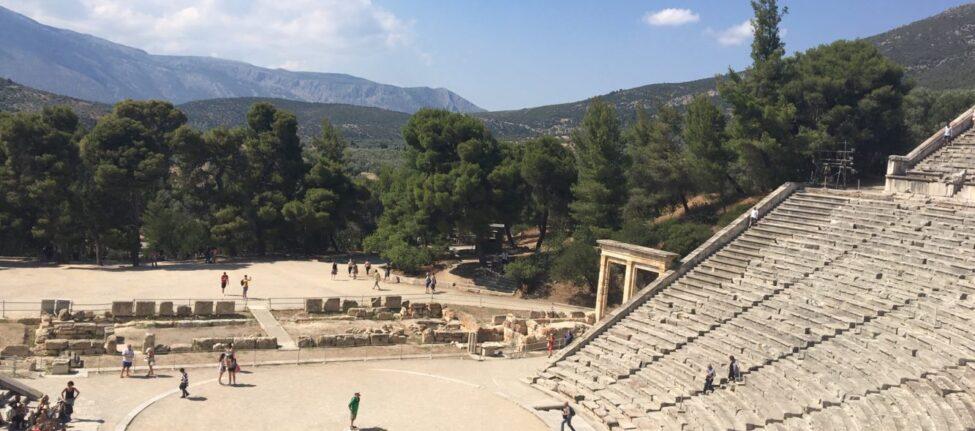 théâtre d' Epidaure