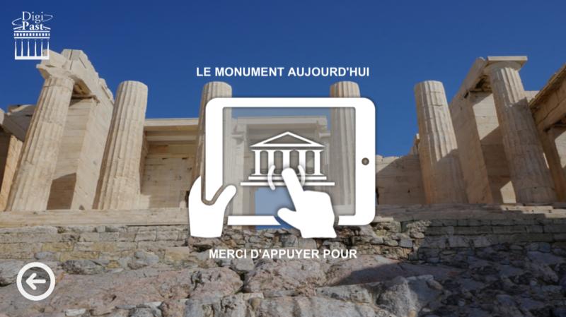 visite de l'Acropole en 3D