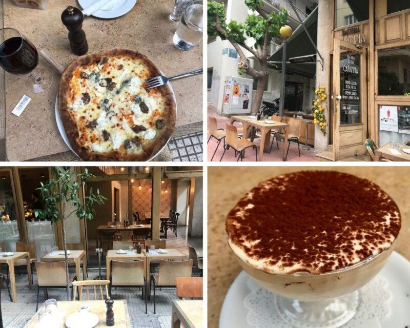 Restaurant italien athenes Capanna