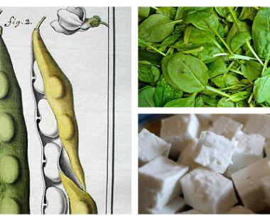 cuisine grecque : recette des haricots géants aux épinards et à la feta