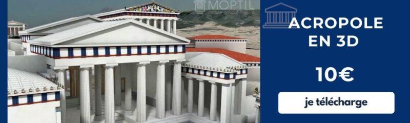 Visite guidée du Parthenon et de l'Acropole en français - audioguide acropole