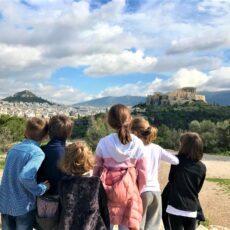 visiter l'Acropole avec des enfants athènes solutions et visites en français