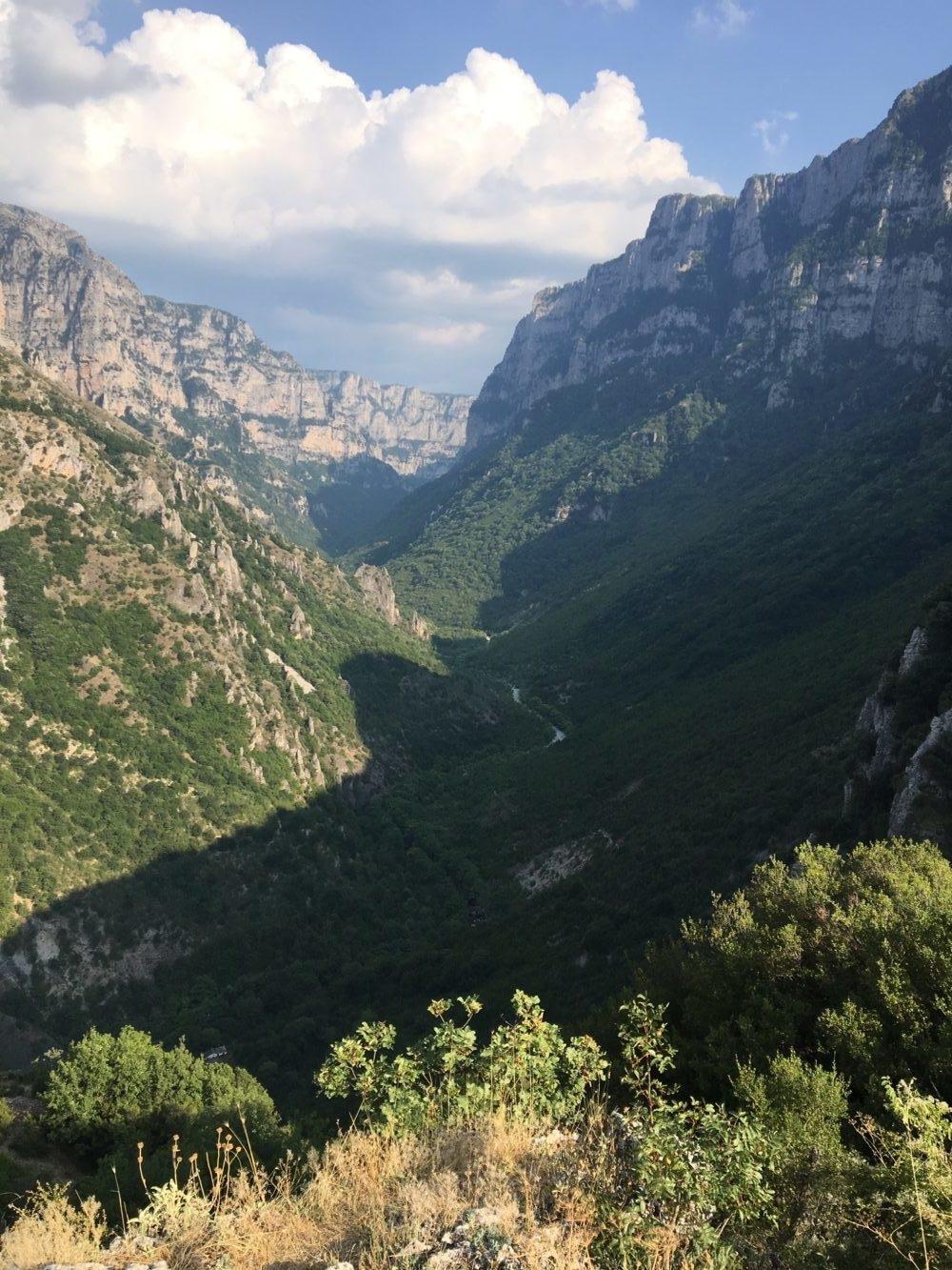 gorges de vikos zagories nord de la Grèce