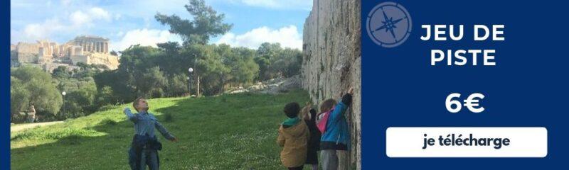 jeu de piste avec des enfants en français à athènes