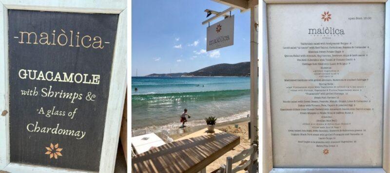 Les meilleurs restaurants à Sifnos Maiolica