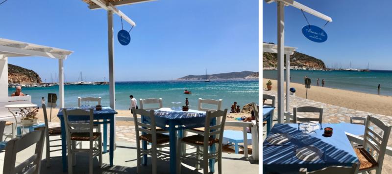 Les meilleurs restaurants à Sifnos Mamma Mia