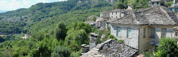villages des zagories Mikro Papingo zagories epire nord de la grèce
