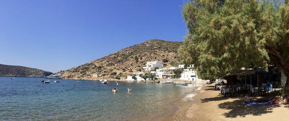 Les meilleures plages de Sifnos