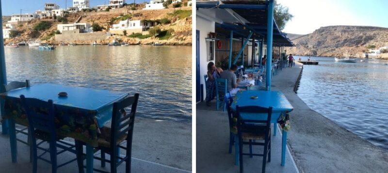 Les meilleurs restaurants à Sifnos Cheronissos