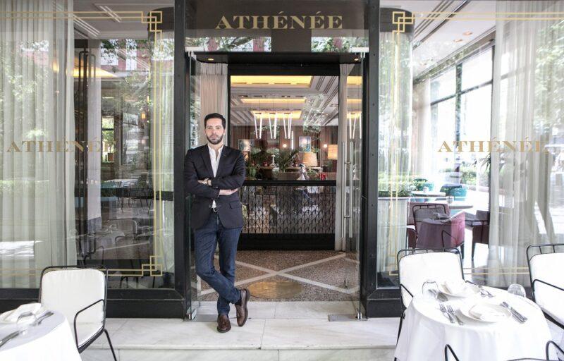 Le café Athénée Zonars à Athènes