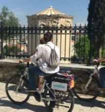 athenes à vélo électrique