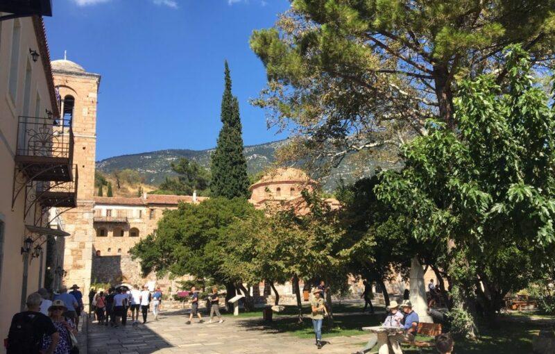 ossios loukas, monastère byzantin proche delphes