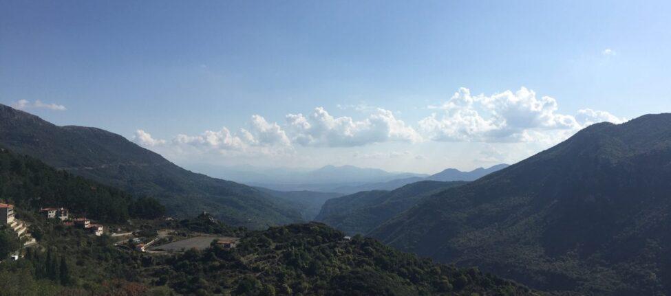 Que faire au centre du Péloponnèse arcadie montagnes centre du peloponnèse