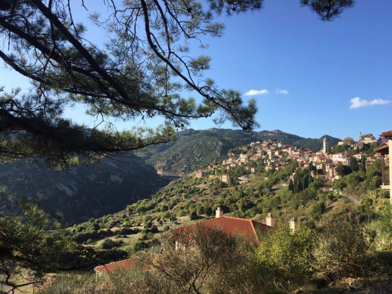 Dimitzana village arcadie montagnes centre du peloponnèse