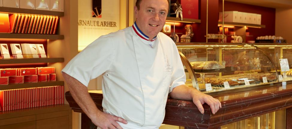 Le pâtissier Arnaud Larher à Athènes