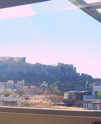 penthouse à Athènes loft hotel vue acropole