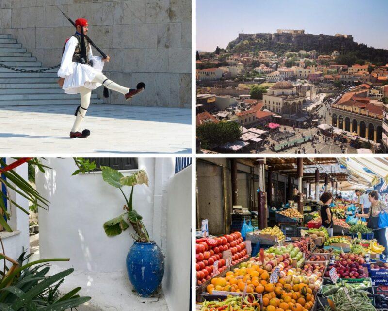 Visite guidée d'Athènes en français avec Secrets d'Athènes