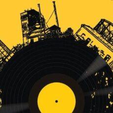 marché du vinyle disques vinyles à Athènes Technopolis février