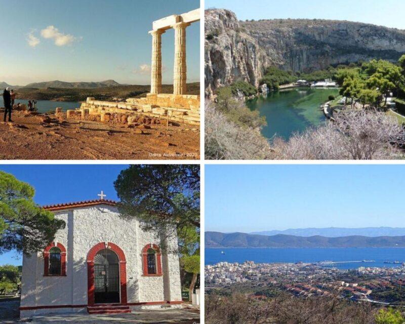 visites guidées autour d'Athènes - visite guidée cap sounion