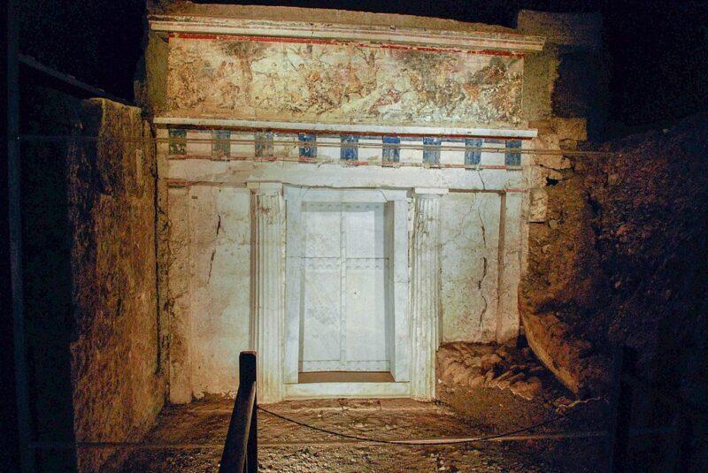 Le site de vergina en Grèce du Nord - Verigna Aigai Aigeai