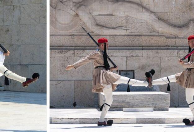 La releève de la garde à Athènes
