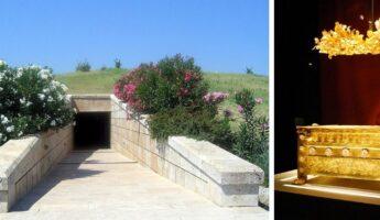 Le site de vergina en Grèce du Nord