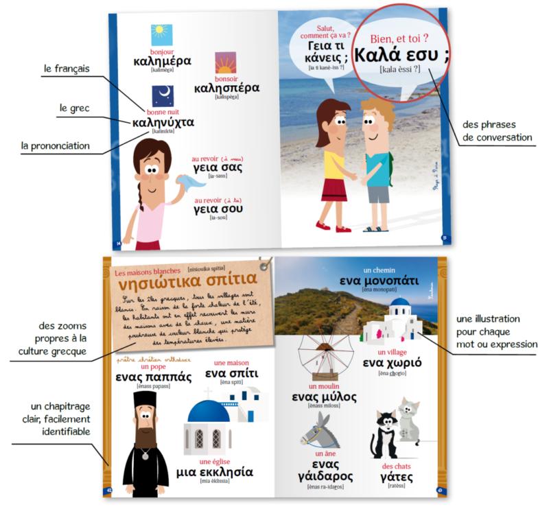 Apprendre le grec : guide de conversation français grec pour les enfants