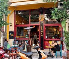 Restaurant près de l'Acropole Athènes