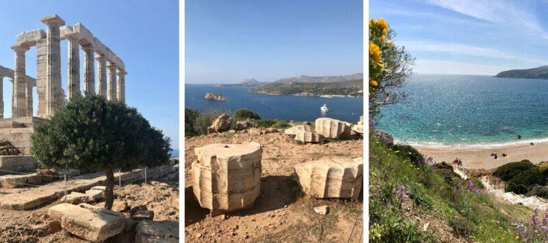 Balades autour d'Athènes à la journée : le cap sounion