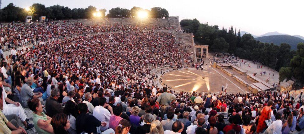 festival d'Athènes et d'Epidaure 2020 Festival d'athènes et d'epidaure 2020 programmation théatre du vieil Epidaure théatre antique représentation théatrale