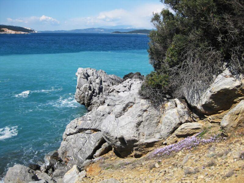 îles grecques Eubée evia