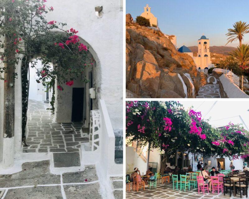 Dormir Chora Ios Grèce