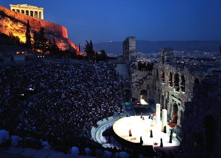 Festival d'athènes et d'epidaure 2020 programmation théatre Odéon Herode Atticus théatre antique représentation théatrale