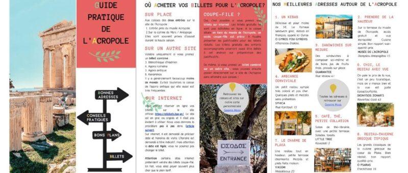 guide pratique de l'Acropole horaires tarifs tickets