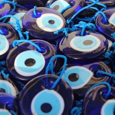 Pendentif oeil bleu oeil grec matiasma achat