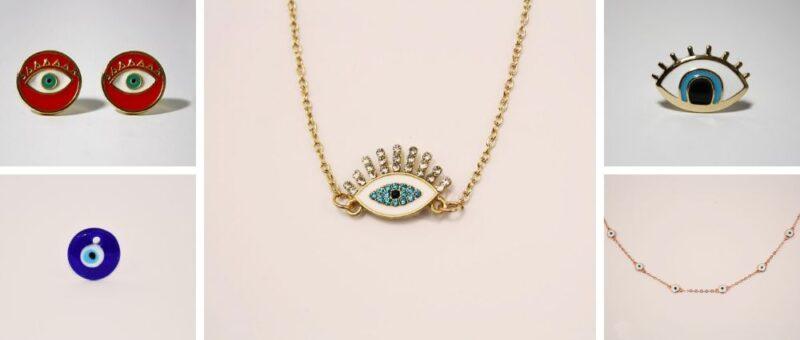 Circé Ornamento bijoux, bagues, Pendentif oeil bleu oeil grec matiasma achat