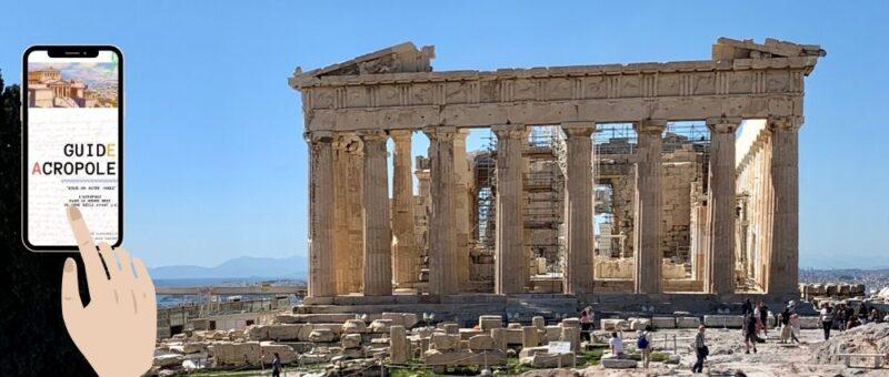ebook e-book livre numérique guide numérique sur l'acropole d'Athènes