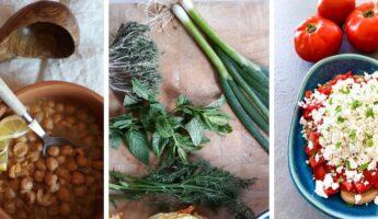 manger végétarien en Grèce