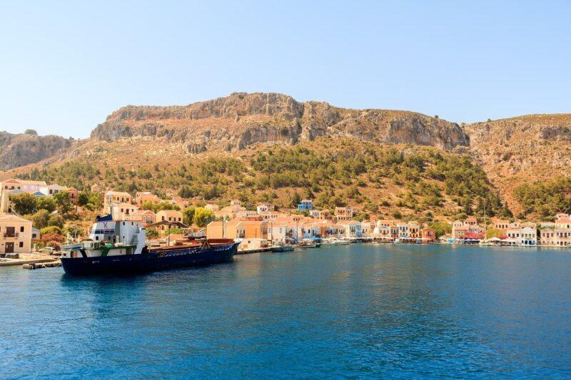 Les îles grecques peu touristiques : Kastellorizo