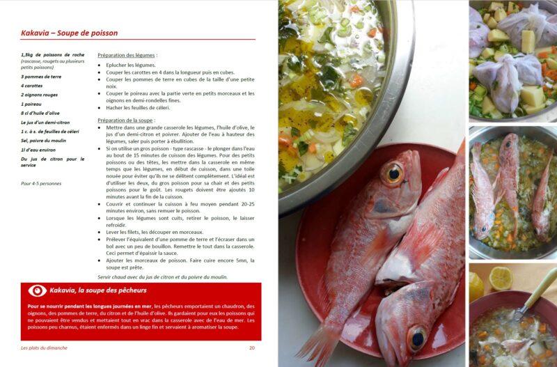 recette kakavia soupe de poisson grecque